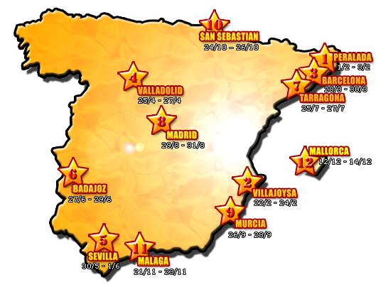 Casinos de juego de España